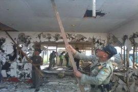 Belasan Bangunan Liar Di Jalan Sultan Hamid II Kembali Dibongkar