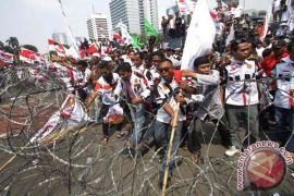 Relawan Prabowo pulang kampung ke Kepri