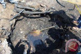 Materi bocoran pipa Pertamina di Riau hanya air