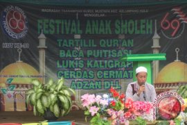 Indocement Gelar Festival Anak Sholeh
