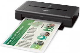 Canon Perkenalkan Printer Mobile Wireless Pixma iP110
