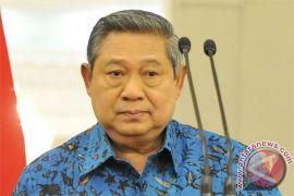 Presiden Yudhoyono bersilaturahmi dengan pejabat daerah