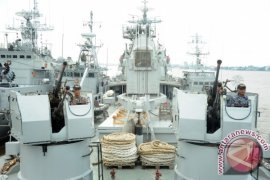 Lantamal XII Pontianak Diperkuat Tiga Kapal Perang