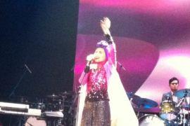 Penyanyi rock Malaysia tampil berhijab di SoundsFair