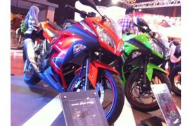 Kawasaki targetkan penjualan 200 unit di IMOS