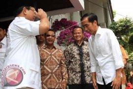 Prabowo Ultah Bertemu dengan Jokowi