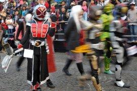 Parade cosplay Kawasan Monas