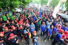 500 Personel Polres Bogor Amankan Aksi Buruh