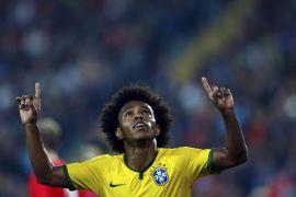 Kalahkan Venezuela 2-0, Brasil ke puncak klasemen