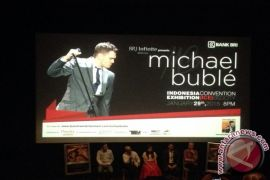 Michael Buble siap gelar konser perdana di Indonesia