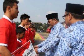 Dispora Banten Beri Bantuan Bagi Atlet Berprestasi