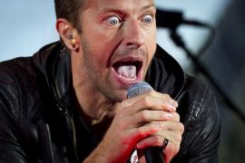 Coldplay manggung di Australia pada Desember