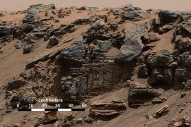 Curiosity temukan bukti keberadaan danau di Mars