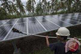 Empat desa di Mesuji dialiri listrik surya