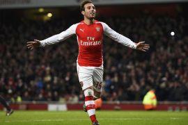 Santi Cazorla tinggalkan Arsenal