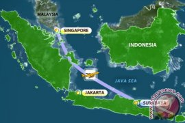 Basarnas Fokus 13 Titik Pencarian Pesawat Hilang