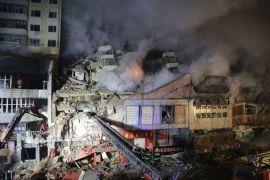 14 tewas akibat gudang di kota Changchun terbakar