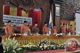 DPRD Provinsi Jambi gelar paripurna peringatan HUT Jambi