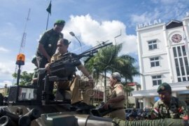 Kodam Xvi/pattimura Gelar Pameran Alutsista di Ambon