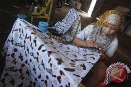 Rupiah merosot, industri batik di Pekalongan terpuruk