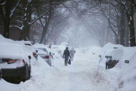 Hujan salju di China renggut satu nyawa
