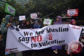 """Sejumlah pelajar-mahasiswa Surabaya tolak """"valentine's day"""""""