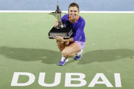 Simona Halep geser posisi Maria Sharapova
