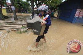 Ribuan rumah terendam banjir di Indramayu