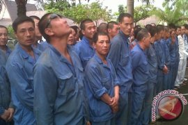 Banjarmasin Immigration Deported 23 Chinese Foreign Workers