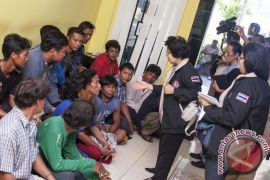 Sembilan WN Thailand dipulangkan dari Ambon