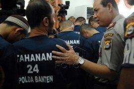 Polda Banten Amankan 49 Pelaku Kriminal