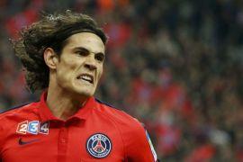 Cavani pencetak gol tersubur di Liga Prancis