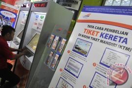 Tiket KA jurusan Sukabumi-Bogor habis terjual jelang Lebaran