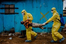 Uji vaksin Ebola sukses 100%