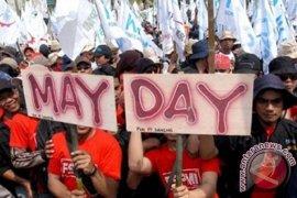 Seniman Bengkulu Ikut Peringati Hari Buruh