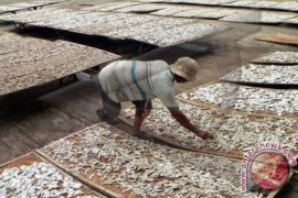 Pedagang Ikan Asin Kesulitan Penuhi Permintaan Masyarakat