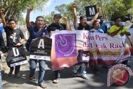 Peringati Hari Kebebasan Pers Wartawan Lhokseumawe