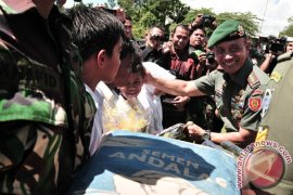 TMMD Aceh Barat Buka Akses Bagi Petani