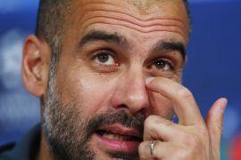 Guardiola minta maaf jika MU tersinggung oleh perayaan City