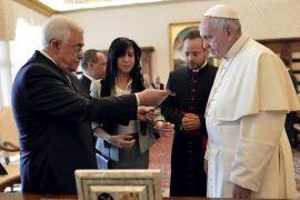 Paus Fransiskus: pengakuan hak semua orang di Tanah Suci sangat penting