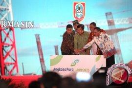 Pengembangan Bandara Syamsudin Noor Capai 12,5 Persen