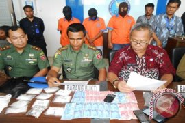 BNN Bongkar Sindikat Narkoba Libatkan Oknum TNI