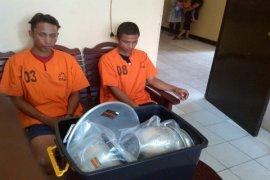 Satreskrim Polres Melawi Ungkap Pembobolan Kantor BPBD