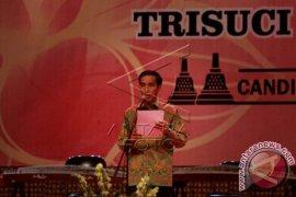 Presiden Hadiri Perayaan Waisak di Candi Borobudur