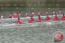 Tim dayung Indonesia raih emas kejuaraan internasional di Sydney