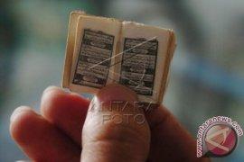 Pameran Quran Kuno Terbanyak Raih MURI