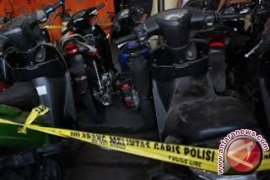 Petugas patroli amankan pencuri sepeda motor