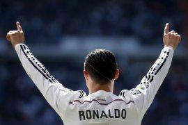 Ronaldo cetak gol saat real imbang dengan Atletico