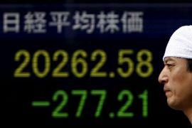 Bursa Tokyo dibuka anjlok ikuti kemunduran Indeks Dow Jones