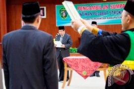 Empat Pejabat Penajam Tidak Hadiri Pelantikan